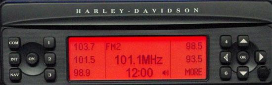 Harley Davidson LED Radio Mod | Harley Davidson LED Backlight Radio